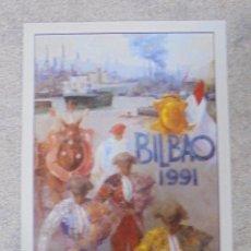 Tauromaquia: CARTEL PLAZA DE TOROS VISTA ALEGRE. BILBAO. 1991. ORTEGA CANO, JOSELITO, JULIO APARICIO, CUELLAR..... Lote 79020829