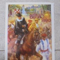 Tauromaquia: CARTEL PLAZA DE TOROS VISTA ALEGRE. BILBAO. 1990. ESPARTACO, LOZANO, CEPEDA, PARDAL, LITRI, JOSELITO. Lote 79021077