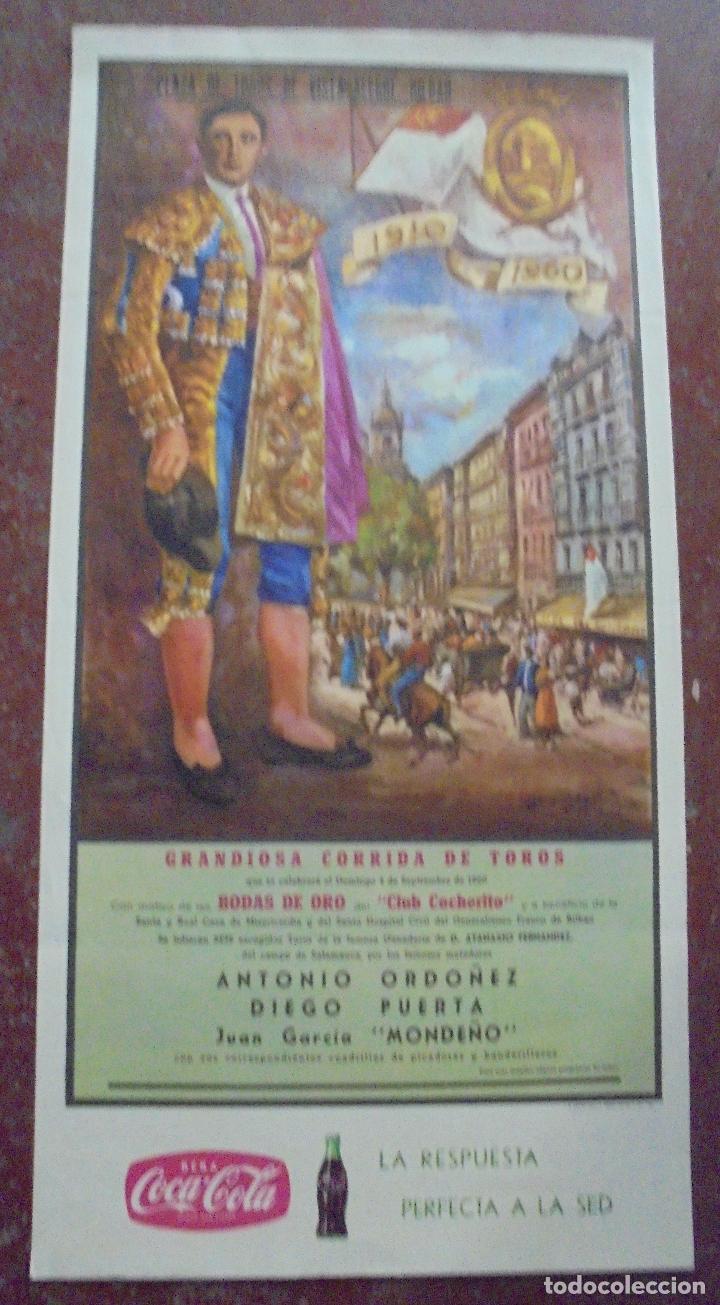 Cartel De Plaza De Toros Vista Alegre Bilbao 1960 6 Hermosos Toros 6 Antonio Ordonez Diego
