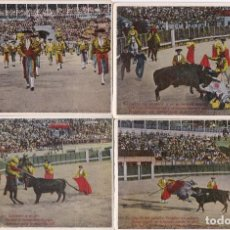 Tauromaquia: COLECCION DE 12 POSTALES DE CORRIDAS DE TOROS (TORO-TORERO). Lote 80210921
