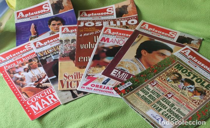 Tauromaquia: LOTE 67 REVISTAS -APLAUSOS-desde 1992 hasta 2003 - Foto 2 - 81248032