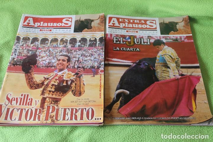 Tauromaquia: LOTE 67 REVISTAS -APLAUSOS-desde 1992 hasta 2003 - Foto 3 - 81248032