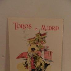 Tauromaquia: VAMOS A LOS TOROS ,TOROS EN MADRID. OFICINA MUNICIPAL DE TURISMO. TEXTO DE MANOLO CASTAÑETA. Lote 82516352