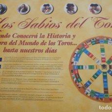 Tauromaquia: JUEGO DE MESA TAURINO. LOS SABIOS DEL TOREO. ESCASO Y RARO. FABRICADO POR TELETROFEO.. Lote 83826340
