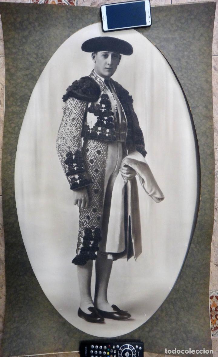 ESPECTACULAR GRAN FOTOGRAFIA, TOROS, TORERO MANUEL GRANERO , MUY GRANDE ,ANTIGUA , ORIGINAL (Coleccionismo - Tauromaquia)