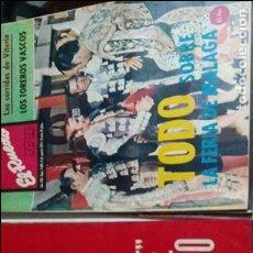 Tauromaquia: 13 REVISTAS EL RUEDO DEL AÑO 1972. Lote 80321801