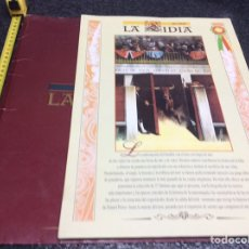 Tauromaquia: LA LIDIA. COLECCIONABLE EL PAIS. CARPETA Y 27 LAMINAS , COMPLETO ( TAUROMAQUIA ). Lote 88888600