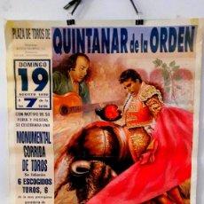 Tauromaquia: CARTEL TOROS QUINTANAR DE LA ORDEN MAESTRO ESPLA. Lote 89723724