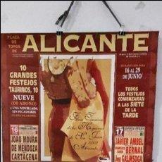 Tauromaquia: CARTEL TOROS ALICANTE MAESTRO ESPLA . Lote 89780800