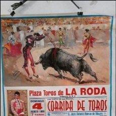 Tauromaquia: CARTEL TOROS LA RODA. Lote 90426429