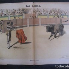 Tauromaquia: LA LIDIA - REVISTA TAURINA - AÑO 11 - NUMERO 5 - AÑO 1892 - ORIGINAL - VER FOTOS. Lote 90565410