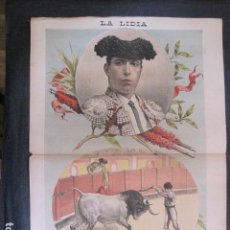 Tauromaquia: LA LIDIA - REVISTA TAURINA - AÑO 11 - NUMERO 6 - AÑO 1892 - ORIGINAL - VER FOTOS. Lote 90565505
