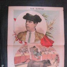 Tauromaquia: LA LIDIA - REVISTA TAURINA - AÑO 11 - NUMERO 7 - AÑO 1892 - ORIGINAL - VER FOTOS. Lote 90565565