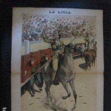 Tauromaquia: LA LIDIA - REVISTA TAURINA - AÑO 11 - NUMERO 12 - AÑO 1892 - ORIGINAL - VER FOTOS. Lote 90565760