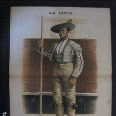 Tauromaquia: LA LIDIA - REVISTA TAURINA - AÑO 11 - NUMERO 26 - AÑO 1892 - ORIGINAL - VER FOTOS. Lote 90566720