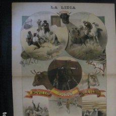 Tauromaquia: LA LIDIA - REVISTA TAURINA - AÑO 11 - NUMERO 27 - AÑO 1892 - ORIGINAL - VER FOTOS. Lote 90566785