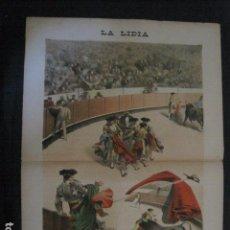 Tauromaquia: LA LIDIA - REVISTA TAURINA - AÑO 11 - NUMERO 30 - AÑO 1892 - ORIGINAL - VER FOTOS. Lote 90567080