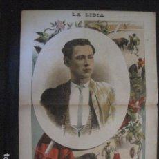 Tauromaquia: LA LIDIA - REVISTA TAURINA - AÑO 11 - NUMERO 33 - AÑO 1892 - ORIGINAL - VER FOTOS. Lote 90567255