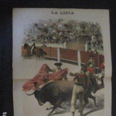 Tauromaquia: LA LIDIA - REVISTA TAURINA - AÑO 12 - NUMERO 3 - AÑO 1893 - ORIGINAL - VER FOTOS. Lote 90567585