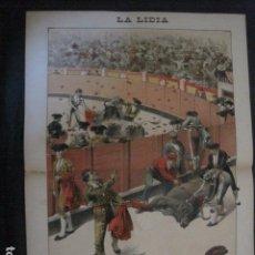 Tauromaquia: LA LIDIA - REVISTA TAURINA - AÑO 12 - NUMERO 8 - AÑO 1893 - ORIGINAL - VER FOTOS. Lote 90568190