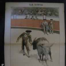Tauromaquia: LA LIDIA - REVISTA TAURINA - AÑO 12 - NUMERO 9 - AÑO 1893 - ORIGINAL - VER FOTOS. Lote 90568275