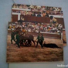 Tauromaquia: ALBUM 15 POSTALES CORRIDA DE TOROS EN ACORDEON AÑOS 50? 10 CMS. Lote 92721585