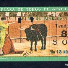 Tauromaquia: ENTRADA A LA PLAZA DE TOROS DE SEVILLA DE 1966. Lote 93643257