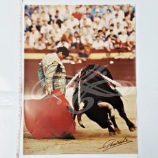 Tauromaquia: REPRODUCCION EN COLOR DE FOTO 30X40 DE TORERO MORANTE?. Lote 95124851