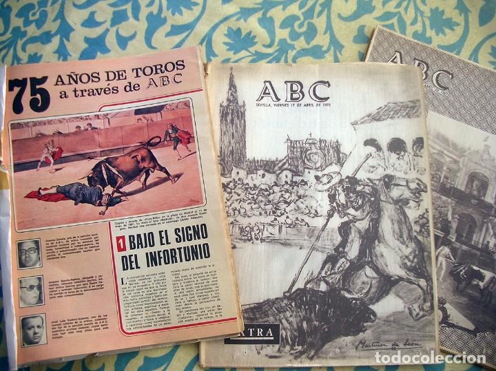 75 AÑOS DE TOROS ESPECIAL ABC (Coleccionismo - Tauromaquia)