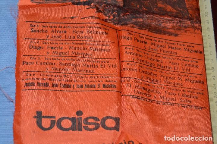 Tauromaquia: Cartel de toros SEDA - Plaza de toros MÁLAGA - Feria del 3 a 10 de agosto 1969 - Muy buen estado - Foto 2 - 97188751