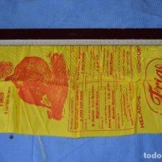 Tauromaquia: CARTEL DE TOROS SEDA - PLAZA DE TOROS MÁLAGA - FERIA DEL 3 A 10 DE AGOSTO 1969 - MUY BUEN ESTADO. Lote 97189231