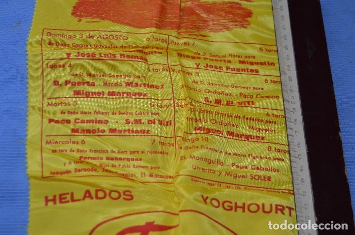 Tauromaquia: Cartel de toros SEDA - Plaza de toros MÁLAGA - Feria del 3 a 10 de agosto 1969 - Muy buen estado - Foto 2 - 97189231