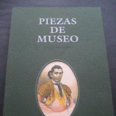 Tauromaquia: LIBRO TOROS PIEZAS DE MUSEO. ENRIQUE ASIN. ZARAGOZA 1995. TAUROMAQUIA. Lote 97437047