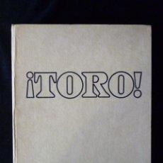 Tauromaquia: ¡TORO! EDITORIAL CODEX, TOMO I. MADRID 1966. Lote 98362087