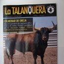 Tauromaquia: LA TALANQUERA Nº 88. REVISTA TAURINA DE FESTEJOS POPULARES. SEPTIEMBRE 2011 COLMENAR OREJA. TDKR48. Lote 155272032