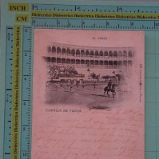Tauromaquia: POSTAL DE TOROS TAUROMAQUIA. AÑO 1900. EL PASEO. 122 HAUSER Y MENET. 1084. Lote 98510475