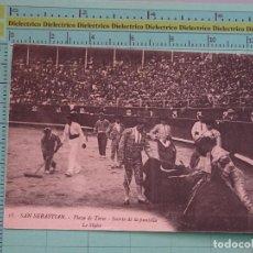 Tauromaquia: POSTAL DE TOROS TAUROMAQUIA. AÑOS 10 30. PLAZA DE TOROS, SUERTE DE LA PUNTILLA. 18 GALARZA. 1086. Lote 98510587