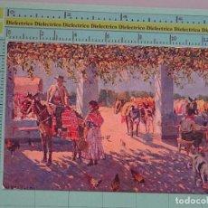 Tauromaquia: POSTAL DE TOROS TAUROMAQUIA. AÑOS 10 30. UN VENTORRILLO DE SEVILLA. 273 BERTUCHI. 1098. Lote 98511027
