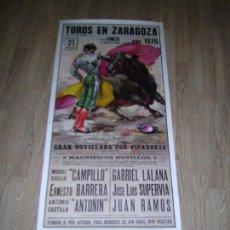 Tauromaquia: CARTEL FESTEJOS TAURINOS. Lote 97045679