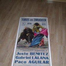 Tauromaquia: CARTEL FESTEJOS TAURINOS. Lote 97046011
