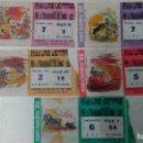 Tauromaquia: 5 ENTRADAS DE TOROS DE SAN ISIDRO DEL AÑO 1986. Lote 99106799