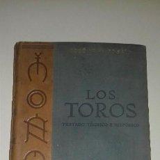 Tauromaquia: TOMO II / 2 COSSIO LOS TOROS TRATADO TECNICO E HISTORICO ESPASA - CALPE PRIMERA EDICION 1947. Lote 99322155