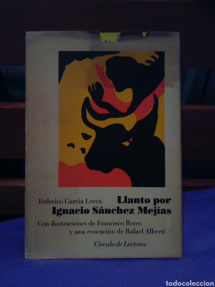 Tauromaquia: Federico García Lorca llanto por Ignacio Sánchez Mejías. Rafael Alberti-megías -toros-tauromaquía - Foto 4 - 99768312