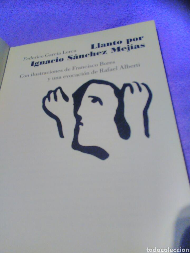 Tauromaquia: Federico García Lorca llanto por Ignacio Sánchez Mejías. Rafael Alberti-megías -toros-tauromaquía - Foto 5 - 99768312