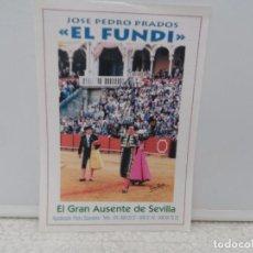 Tauromaquia: EL FUNDI EL GRAN AUSENTE EN SEVILLA. . Lote 101097931