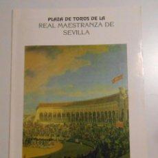 Tauromaquia: FOLLETO PROGRAMA PLAZA DE TOROS DE SEVILLA. REAL MAESTRANZA. CORRIDA 29 DE ABRIL DE 1990. TDKP2. Lote 102012923