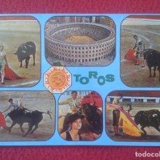 Tauromaquia: POSTAL POST CARD POSTCARD TOROS TOREO TAUROMAQUIA TORERO BULLFIGHTING, PLAZA ,DIVERSAS VISTAS,FIESTA. Lote 103694723