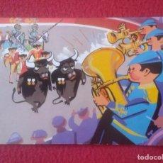 Tauromaquia: POSTAL POST CARD POSTCARD TOROS TOREO TAUROMAQUIA FIESTA BULLFIGHTING, PLAZA. HUMOR TAURINO, ACTORES. Lote 103696187