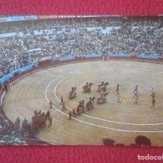 Tauromaquia: POSTAL POST CARD POSTCARD TOROS TOREO TAUROMAQUIA FIESTA BULLFIGHTING, PLAZA. PASEILLO CUADRILLAS VE. Lote 103696655