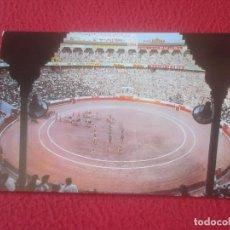 Tauromaquia: POSTAL POSTCARD POST CARD TOROS TOREO TAUROMAQUIA FIESTA BULLFIGHTING ESPAÑA TÍPICA INTERIOR PLAZA D. Lote 103698947